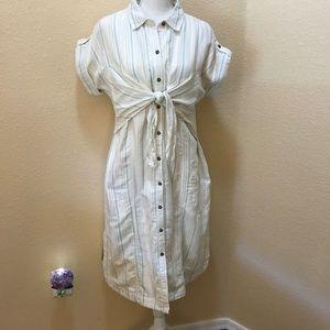 Anthropologie Maeve NWT Striped Dress 14